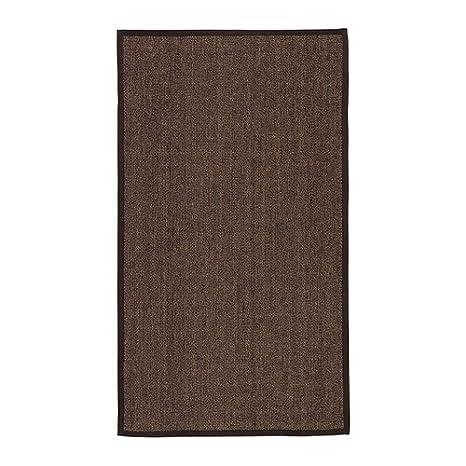 Ikea Osted Tapis Tissé à Plat Brun 80x140 Cm Amazonfr