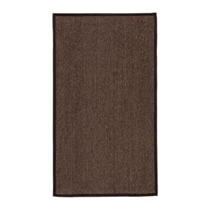 Ikea osted alfombra flatwoven marr n 80x140 cm - Alfombras sisal ikea ...
