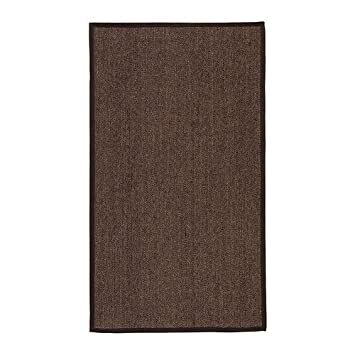 Ikea Osted Tapis Flatwoven Marron 80 X 140 Cm Amazon Fr
