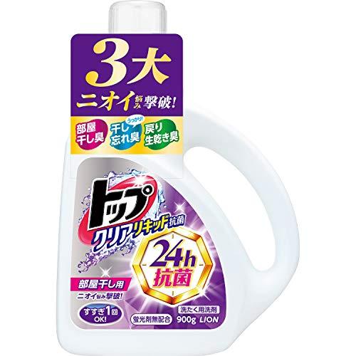 일본세제  톱 클리어 리퀴드 항균 세탁 세제 본체 900g / 리필 1160g
