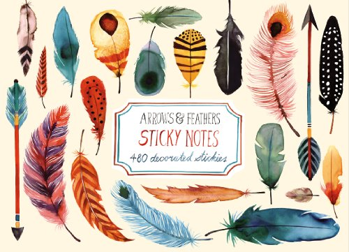 Arrows & Feathers Sticky Notes ()