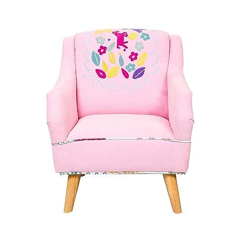 XTXWEN Sillón para niños, Bordado bebé Mini sillones, sofás ...