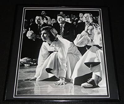 Kentucky Wildcat Cheerleaders at 1958 Final Four Framed 12x12 Poster Photo