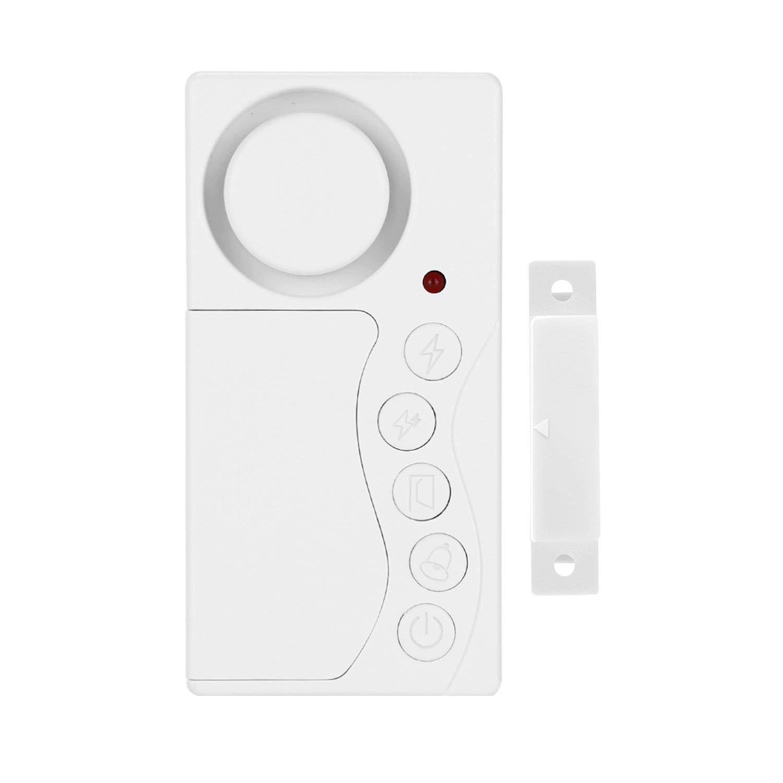 WSDCAM Freezer Door Alarm with Delay When Left Open, 3/15/30/60 Seconds Adjustable Delay Refrigerator Alarm Wireless Fridge Alarm Door Open Alarm Loud 108 dB