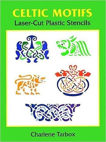 celtic motifs laser cut plastic stencils laser cut stencils