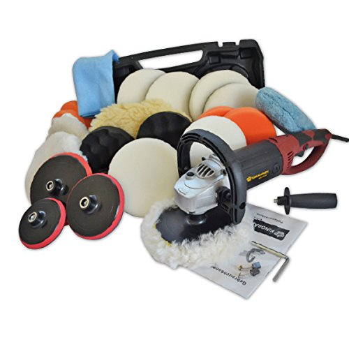 CAR BOAT POLISHER,ELECTRIC,SANDER, BUFFER + Set 2, 1500 W Kingbarney 400250399