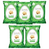 Quevos Keto Dill Pickle - Low Carb Egg White Chips