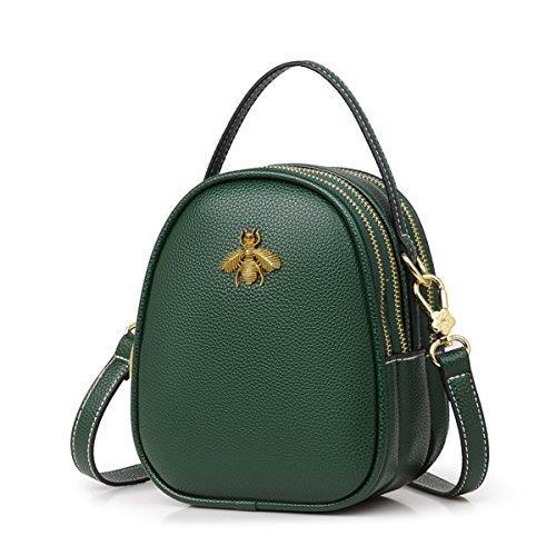 Bags Bag Olici Mini Shoulder Ladies Summer Round Little Single Joker Small green Students Fresh Fashion Satchel wrvqCrt