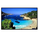 Kyпить Excelvan Outdoor Portable Movie Screen 120 Inch 16:9 Home Cinema Projector Screen, PVC Fabric на Amazon.com