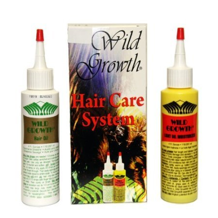 Système de soins de cheveux de Croissance sauvage