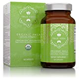 Organic Amla Vitamin C Capsules - USDA Organic Certified | Whole Food Plant Based Vitamin C | Amalaki Supplement | Avoid Synthetic Ascorbic Acid | Antioxidant Rich Alma | Ayurveda | 60 Pills