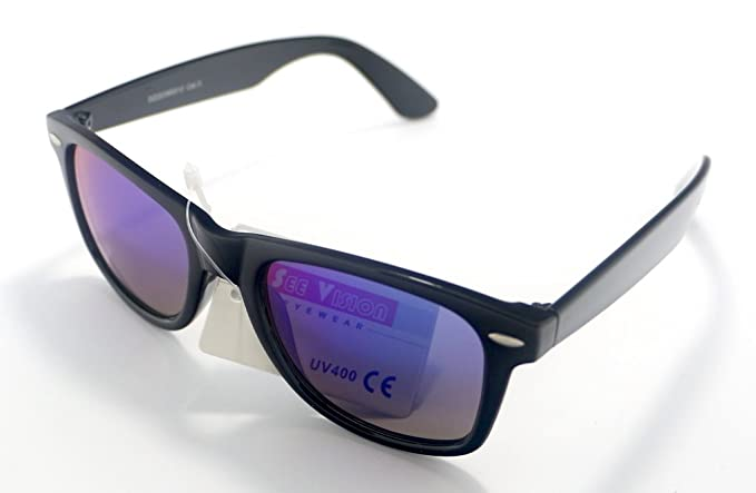 Totalcovers Gafas de Sol de Pasta Espejo Alta Calidad UV 400 ...