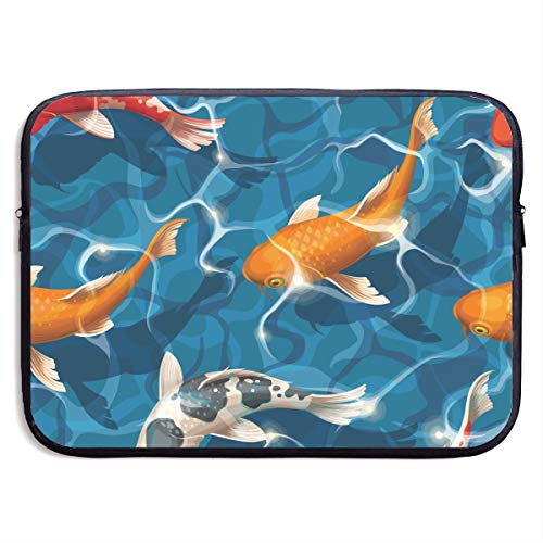 Yan Hill Goldfish Laptop Sleeve Bag Case Waterproof Neoprene for MacBook Ipad
