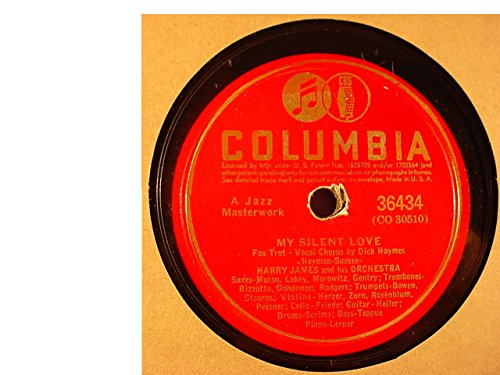 Larry Clinton & His Orchestra Very Nice Original 10 Inch 78 rpm - I Dream Of Jeanie With The Light Brown Hair / Old Folks At Home - Victor Records 26468 - 1940