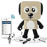 Liibot Dancing Speaker Mini Portable Wireless Bluetooth Smart Robot Dancing Dog Toys Creative Audio Speaker