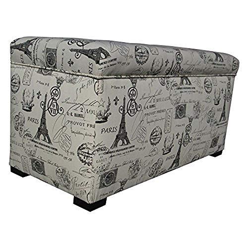 Sole Designs Angela Paris Match Storage Trunk, Onyx