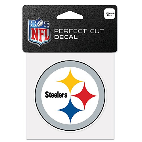 - WinCraft NFL Pittsburgh Steelers 63065011 Perfect Cut Color Decal, 4