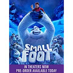 Smallfoot arrives on Digital Dec. 4 and on Blu-ray Dec. 11 from Warner Bros.