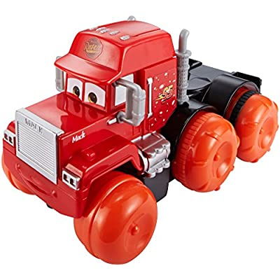 Disney Pixar Cars Hydro Wheels Deluxe Mack Vehicle: Toys & Games