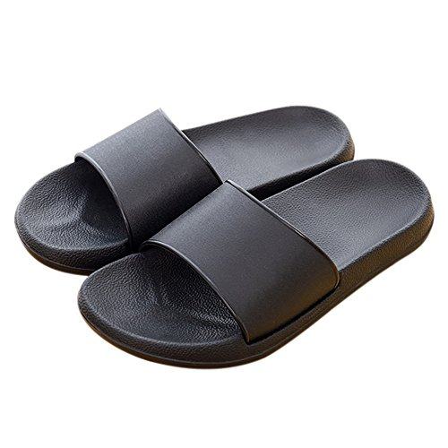 Unisex Slip-on Slippers Non-slip Open Tote Shower Sandals Indoor or Outdoor Mule Think EVA Resin Foams Sole Pool Shoes Bathroom Slide, Women's Size