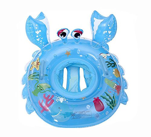 Kids Baby Toddler Swimming Pool Swim Seat Float Boat Ring Pool Aid Trainer...