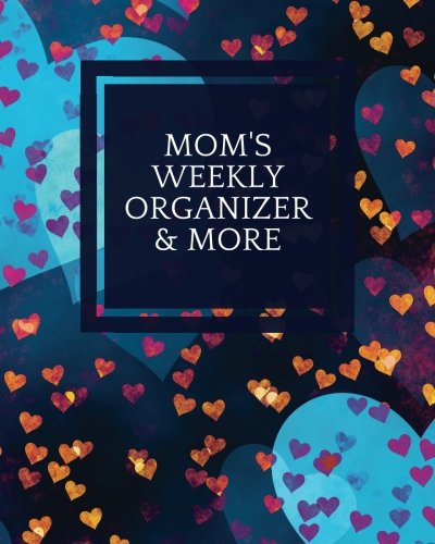 Mom's Weekly Organizer & More: Navy Cover | Parents Ultimate Organizer | Add Details For Up To 4 Children, Emergency Details, Children And School ... & More (Family Stationery) (Volume (Moms Ultimate Family Organizer)