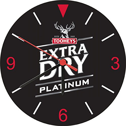 tooheys-extra-dry-platinum-beer-wall-clock