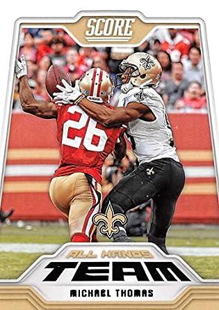 2018 Score All Hands Team  11 Michael Thomas New Orleans Saints Football  Card e79ae915c