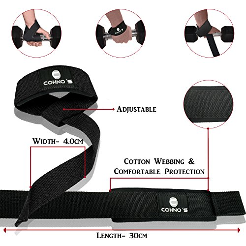 Knee Support Brace+Wrist Wraps+Lifting Straps Bundle for Outstanding Weightlifting,Powerlifting, Gym, Crossfit & Fitness Workout Experience Easy to Use and Ultra Durable