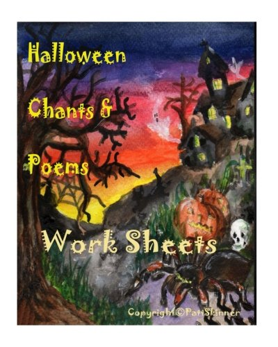 Halloween Chants & Poems 1 Work Sheets: Work sheets for further teaching -