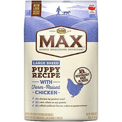 NUTRO MAX Puppy Dry Dog Food, Chicken