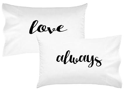 Amazon Oh Susannah Love Always Couples Pillowcases Romantic