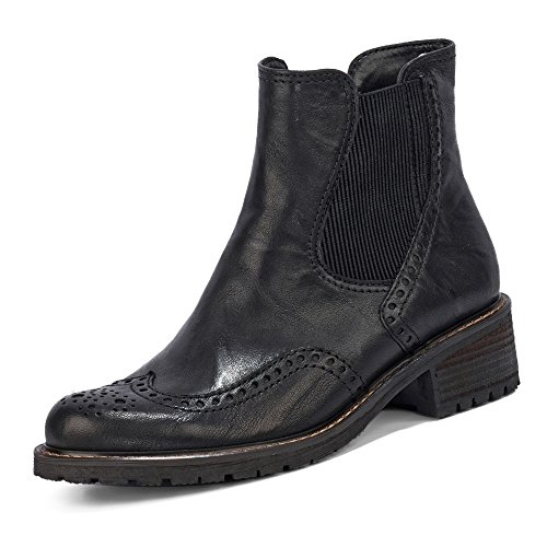 Gabor Comfort Chelsea Schwarz Basic Boots Women's Mel Black 17 qaqTf