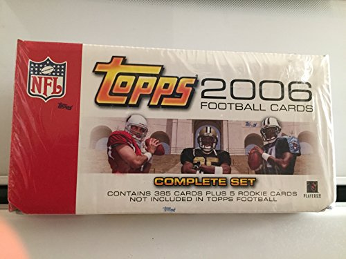 - 2006 Topps Complete Factory Set - NFL Football Cards