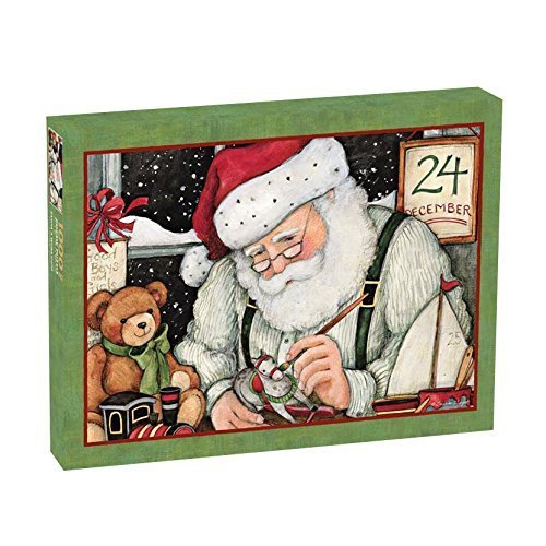 con 60% de descuento Lang Santa'S Workshop Workshop Workshop by Susan Winget Puzzle (1000-Piece) by Perfect Timing Puzzles  los clientes primero