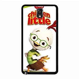 Attractive Exquisite Comic Pattern Cover Case Chicken Little Phone Case Snap on Samsung Galaxy Note 3 N9005 Disney Anime Design Back Cover