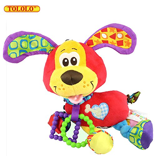 TOLOLO Puppy Soft Cribs to Hang Shaking Dolls