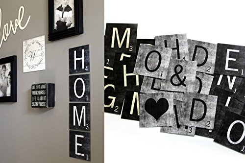 Metal Scrabble Tiles - Scrabble Tile Art