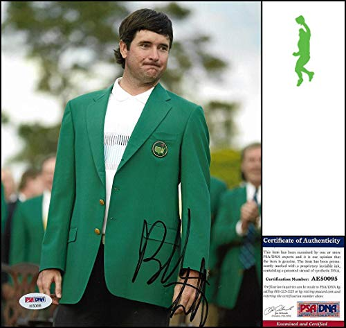 Signed Bubba Watson Photo - 8x10 Masters Coa - PSA/DNA Certified - Autographed Golf Photos (Autograph Certified 8x10 Golf Photo)