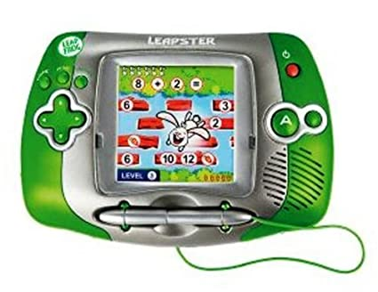amazon com leapfrog leapster learning game system green toys games rh amazon com LeapFrog Leapster LeapFrog Leapster Game System