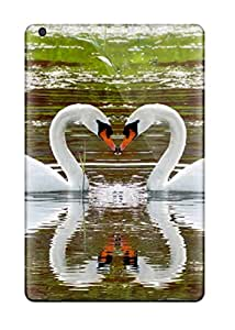 Jim Shaw Graff's Shop New Style Tpu Case For Ipad Mini 2 With Beautiful Swans Love