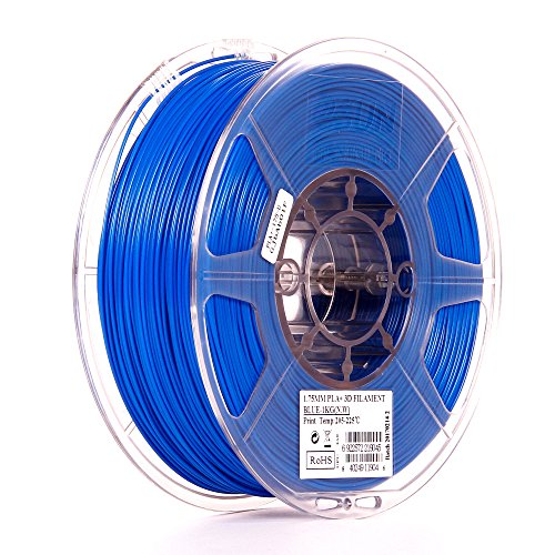 eSUN 1.75mm Blue PLA PRO (PLA+) 3D Printer Filament 1KG Spool (2.2lbs), Blue