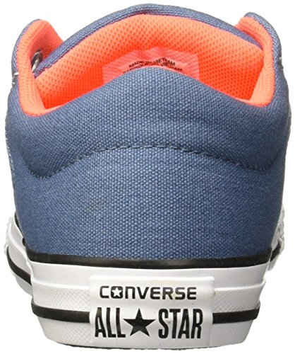 Converse Chucks Kinder 656072C Chuck Taylor All Star High Street Slip Grau Mouse Blue Coast White Mouse/Blue Coast