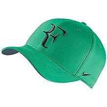 "Green NIKE Roger FEDERER ""RF"" Tennis DRI-FIT Classic99 Hat"