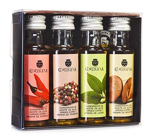 Aceite Oliva Virgen Extra '4 Condimentos' (4 x 25 ml) – La Chinata