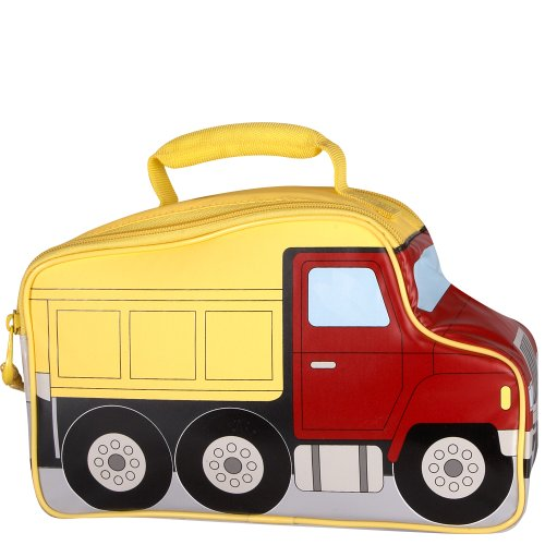 Shaped Lunch - Thermos Novelty Soft Lunch Bag, Dump Truck