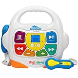 Toys : Kids Karaoke Machine - Sing Along MP3 Music Player with 2 Microphones - Plays Music via Bluetooth, SD, USB, Aux &FM Radio