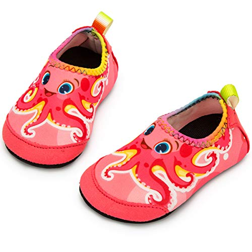 Owaheson Boys Girls Casual Lace-up Sneakers Running Shoes Beluga and Dolphin Swim Out from Photo