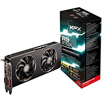 XFX Double D R9 270X 1050M Boost Ready 2GB DDR5 2XmDP HDMI 2XDVI Graphics Card (R9270XCDFC)