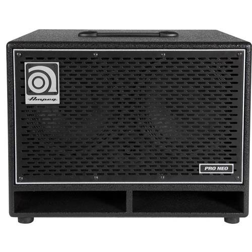 - Ampeg Pro Neo PN-210HLF Bass Amp cab,  2x10-inch speaker cabinet, neodymium loaded, 550W RMS